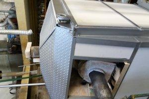 Konstrukce sklářské pece