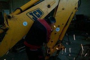 Opravy stavebních strojů